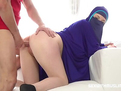 A dream come true - lovemaking in all directions Muslim girl