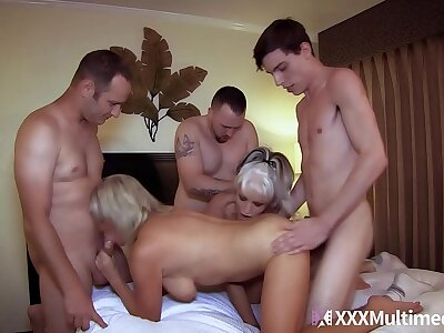 Mammy Has An Orgy With Son plus His Plc conclusion Payton Hall