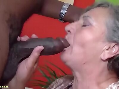 heavy 80 years old mom first interracial sex